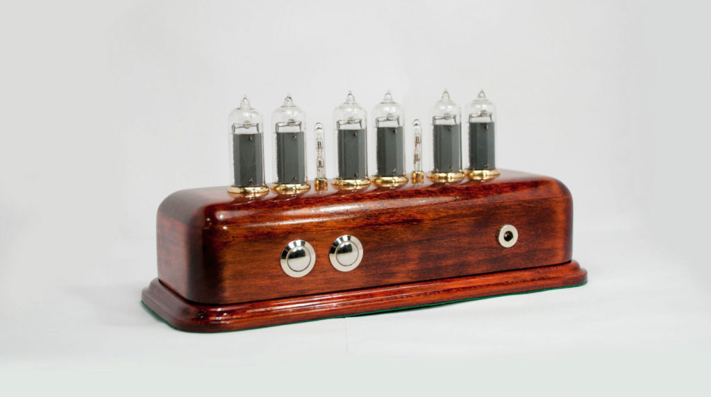 Nixie tube clock enclosure