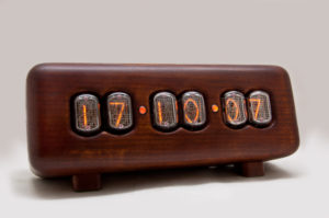 In-12 nixie tube clock