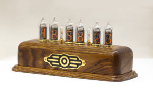 a nixie tube clock