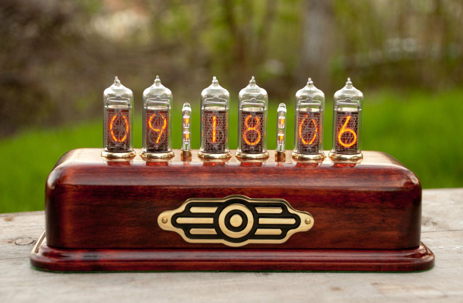 Nixie Tube Clock   Wooden HandCraft - Nixie Tube Clocks