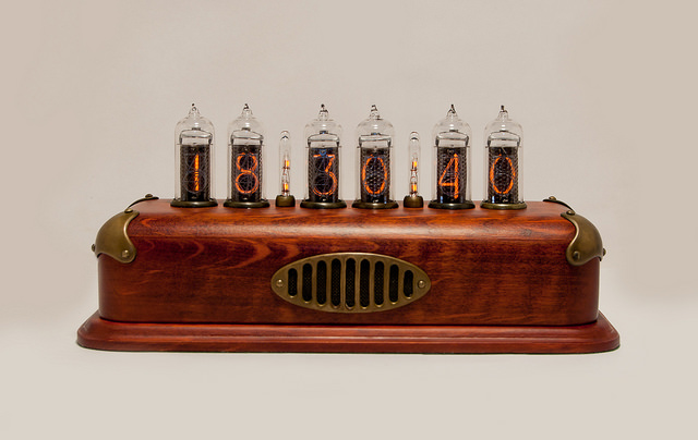 Steam Punk Nixie Tube Clock